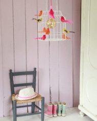 Hanglamp vogels neon sfeer 2